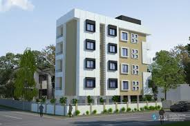 3d apartment building elevation done by ary studios building