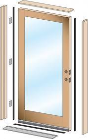 How To Hang An Exterior Door Not Prehung Prehung Front Door Home Victory