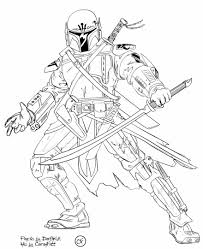 coloring pages in mandalorian coloring pages omeletta me