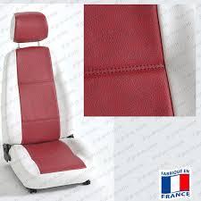 couvre siege cuir housses sièges auto sur mesure pour voiture en simili cuir
