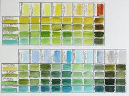 42 best characteristics of watercolors images on pinterest