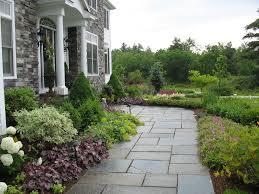 Formal Front Yard Landscaping Ideas - farmhouse full sun front yard formal garden houstation houstation