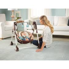 Graco Baby Swing Chair Graco Swing By Me Portable 2 In 1 Musical Swing Dakota Toddler