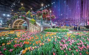 inside the philadelphia flower show travel leisure