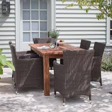Handcrafted Reclaimed Wood Dining Table - Reclaimed teak dining table and chairs