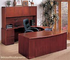 U Shaped Desks With Hutch Bina Discount Office Furniture Beautiful Wood Workstation