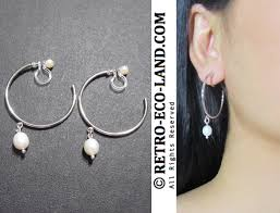 earrings you can sleep in clip on earrings non pierced earrings archives comfortable bridal