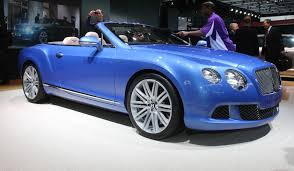 blue bentley interior bentley continental speed cabrio history photos on better parts ltd