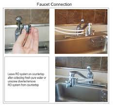 Water Softener Faucet Amazon Com 2 Way Water Diverter For Faucets Fit Spout With Male