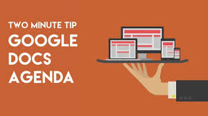 Effective Team Meeting Agenda Template by Use Google Docs For Your Meeting Agenda Youtube