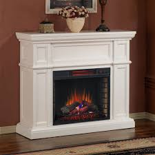 Infrared Electric Fireplaces by Artesian Infrared Electric Fireplace Mantel Package In White