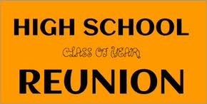 high school reunion banners high school reunion signs dashsigns