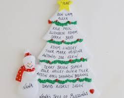 family tree ornament etsy
