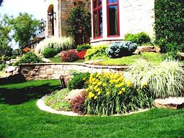mid century modern landscape design with glamorous style for