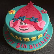 trolls cake poppy sweet shoppe pinterest cake troll party