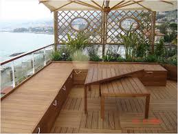 Outdoor Lounge Furniture Wood Terrace Garden Plants Japanese Style Terrace Garden Bamboo Seating