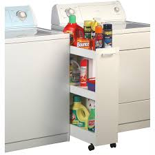 Laundry Room Storage Between Washer And Dryer by Sauder Homeplus Swing Out Storage Cabinet Hayneedle