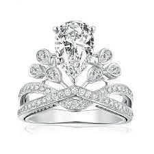 wedding ring big aliexpress buy angelababy wedding ring big cut cubic zircon