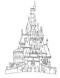 castle pictures colour coloring