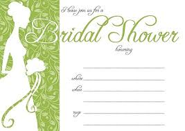 bridal invitation templates bridal shower invitation template free free bridal shower