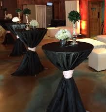 table sashes bistro cocktail tables dpc event services