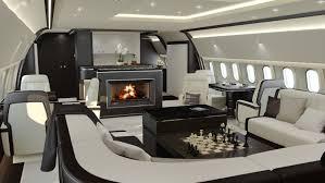 luxury private jet interiors designer uncovered
