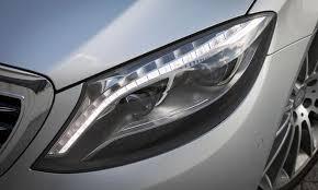 led intelligent light system mercedes benz s class s550 intelligent headlight d photo by