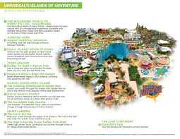 Islands Of Adventure Map Abwechslung Pur In Island Of Adventures