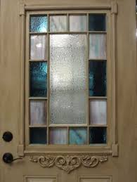 old glass doors 1920s 1930s stained glass front door wood solid reclaimed timber