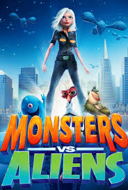 Monster Vs Aliens Halloween by Movies Planet Hollywood Dual Audio Hindi English Small Size Movies