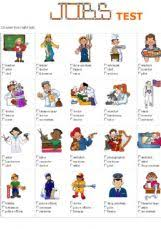 english exercises jobs occupations