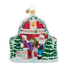 christopher radko ornaments radko north pole tree farm santa