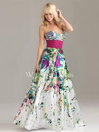 floral prom dresses
