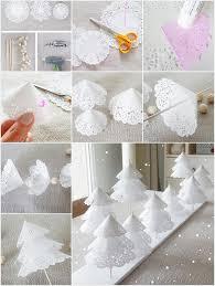 weihnachtsbaum zum hinstellen selbermachen für die tischdeko zu