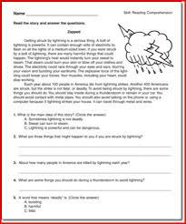 reading comprehension 4th grade reading worksheets for 4th grade printable project edu