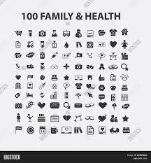 100 family health isolated vector photo bigstock