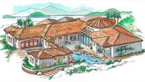 mediterranean house plans mediterranean house plans style exterior design by thd