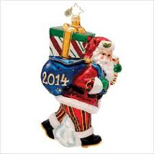 radko three hens ornament from his twelve days of