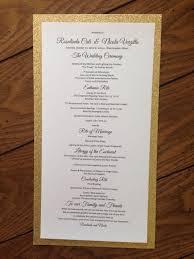Best Wedding Programs 8 Best Wedding Programs Images On Pinterest Wedding Programmes