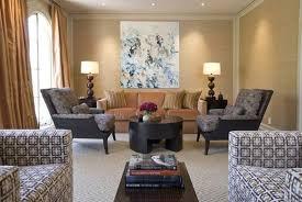 Narrow Living Room Design Ideas Narrow Living Room Design With Grasscloth Wallpaper And Wall Art