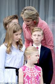 belgium royal family celebrate s birthday daily mail