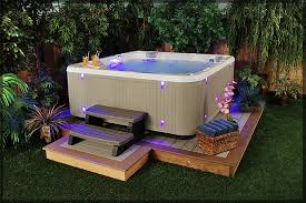 Ideas For Backyards Triyae Com U003d Backyard Ideas With Hot Tub Various Design