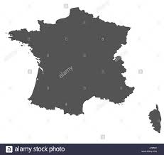 France World Map France Map Black And White Stock Photos U0026 Images Alamy