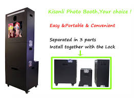 photo booth machine cheap high quality porable photo booth kiosk machine for vending