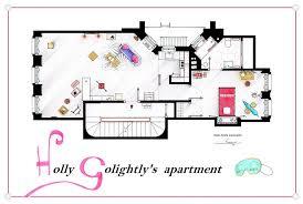 breakfast at tiffany u0027s apartment floorplan poster by nikneuk on