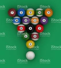 how to set up a pool table setup pool balls billiard stock photo more pictures of arts