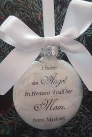 amazon com in memory mother memorial ornament angel in heaven