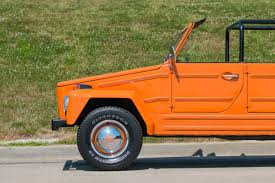volkswagen orange 1974 volkswagen thing fast lane classic cars