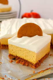 no bake pumpkin cheesecake bars delightful e made