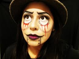 evil ventriloquist doll makeup for beginners 2014 youtube